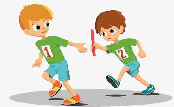 幼儿园大班教案,户外体育接力赛教案
