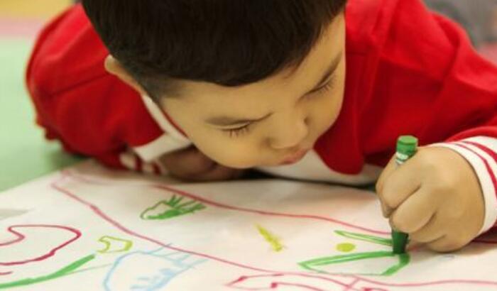 早教画画的最佳时间,幼儿早教画画最佳发展期是2岁,系统的画画在4岁